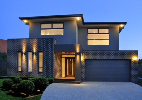 Exterior of new home in ringwood
