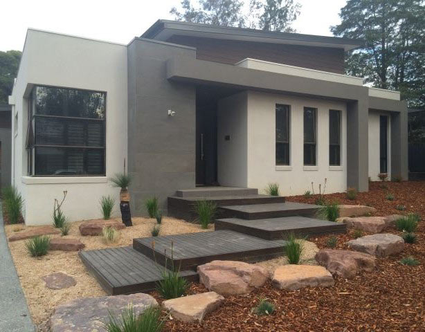 Exterior of new home in Heathmont