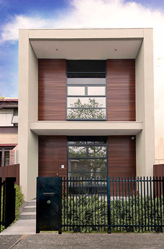 Narrow Block Home Builder